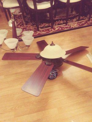 Matching fan and chandelier for Sale in Miramar, FL