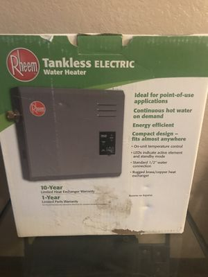 Tankless Water Heater for Sale in San Diego, CA