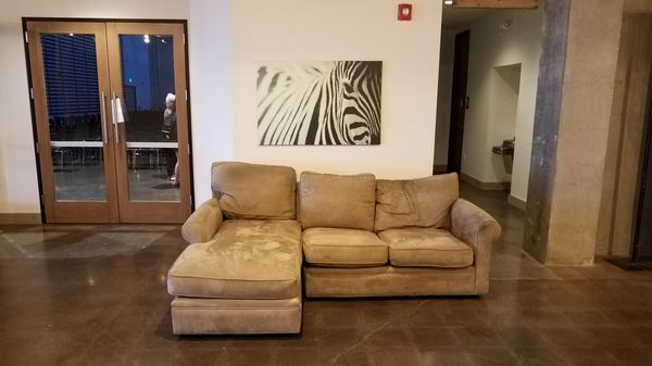 Brown Fabric 3 Seat Sofa For Sale In San Clemente Ca Offerup
