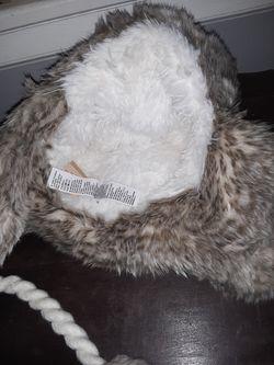 American Eagle Fur Hat Thumbnail