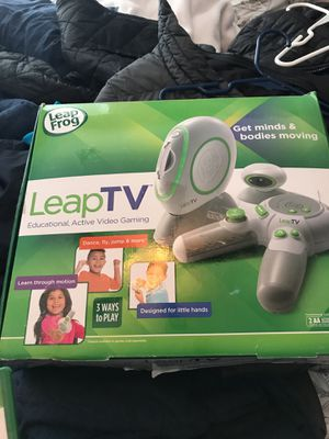 Leap Frog LeapTV gaming system - never used for Sale in Lorton, VA
