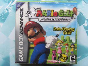 Mario Golf Advanced Tour for the Nintendo Gameboy Advance! for Sale in Menlo Park, CA