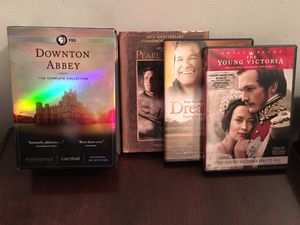 Downtown Abbey DVDs Seasons 1-6 Plus 3 Bonus Movies for Sale in Baltimore, MD