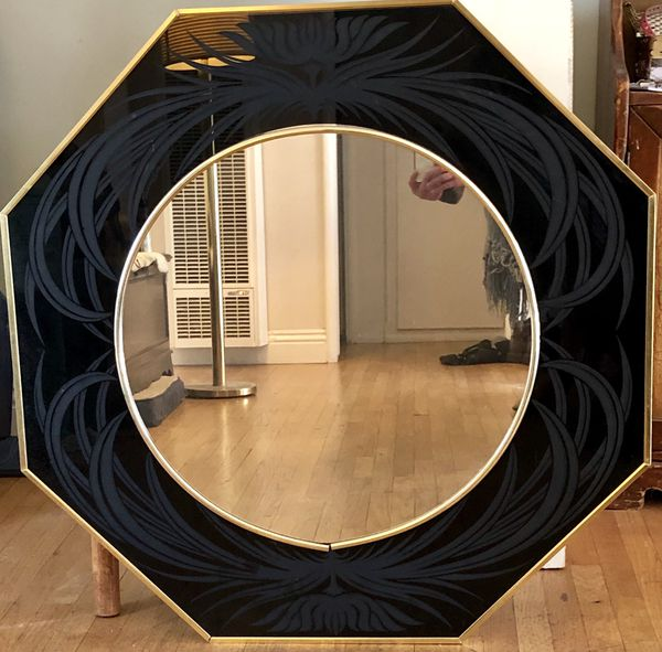 Richard E Sandoval Octagonal Mirror For Sale In Lakewood