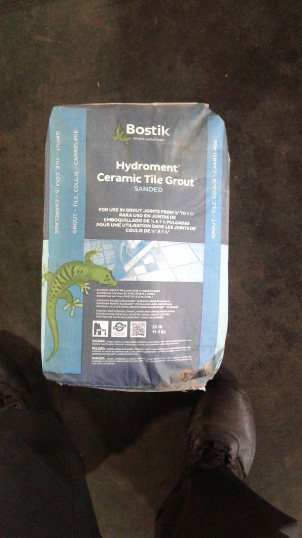 Bostik Hydroment Ceramic Tile Grout For Sale In Phoenix Az Offerup