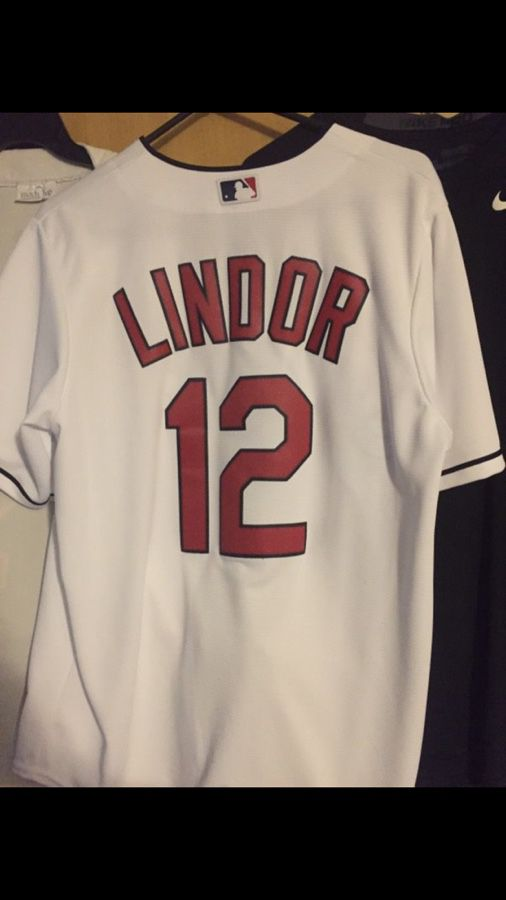the best attitude 72f6f becfd Francisco lindor jersey for Sale in Lakewood, OH - OfferUp