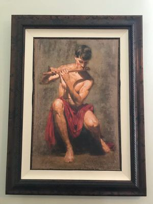 Stanza framed limited edition giclee on canvas Tomasz Rut COA - $1000 (Reston) for Sale in Herndon, VA