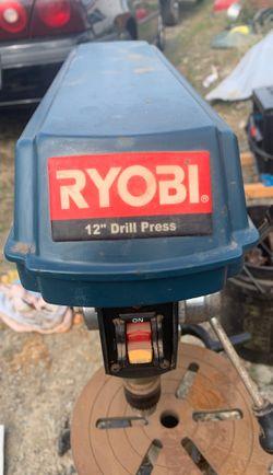 "Ryobi 12"" drill press Thumbnail"