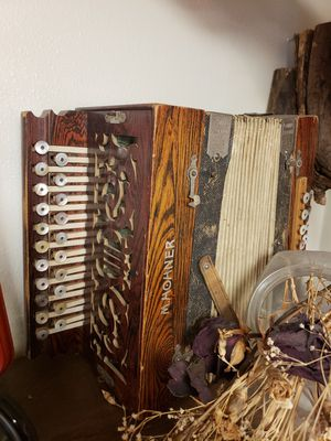 Old late 1800s - early 1900s Accordian for Sale in Seattle, WA