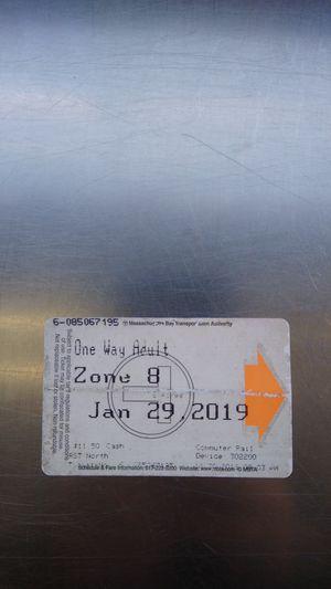 Mbta ticket for Sale in Boston, MA
