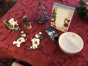 8 Christmas accent decorations for Sale in Arlington, VA
