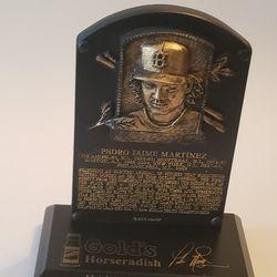 Pedro Martinez Hall Of Fame 2015 Mini Plaque Thumbnail