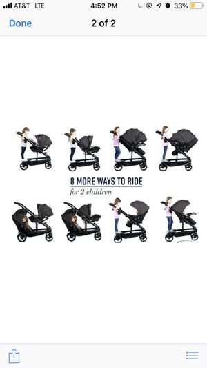 Uno2Duo Travel System. for Sale in Fayetteville, NC