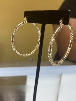 Hoop Earring Gold Filled  Thumbnail