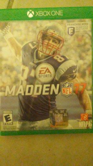 Madden 17 for Sale in Baltimore, MD