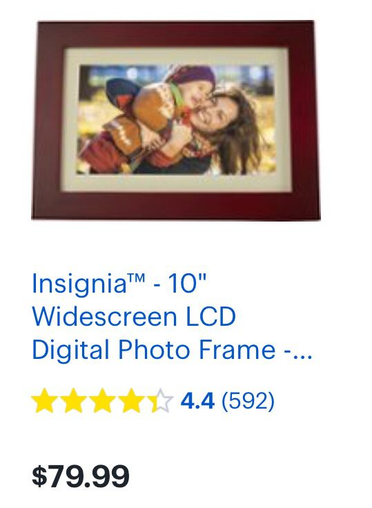 """Insignia Digital picture frame 8"""" for Sale in Quinlan, TX - OfferUp"""