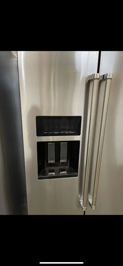 BRAND NEW Stainless Steel Kitchen Aid Refrigerator! WE FINANCE, No Credit Checks💰FREE DELIVERY 🚚  Thumbnail