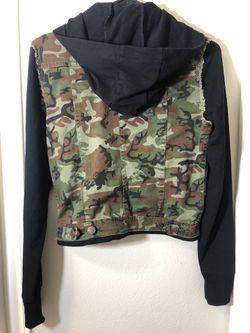 Luxirie by LRG Womens Camo Jacket Medium Thumbnail