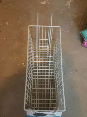 Quantity 25 available - White grid basket retail gridwall storage baskets 4 12x 11 1/2, 4 inches tall in the front storage for Sale in Ashburn, VA