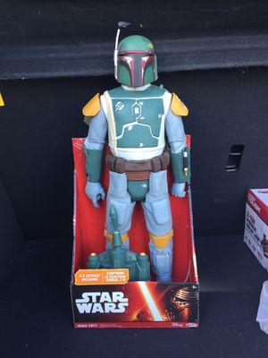 "NEW 18"" inch Star Wars Boba Fett Action Figure for Sale in Saint Cloud, FL"