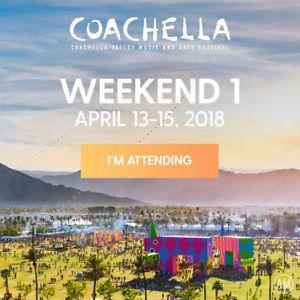 Coachella Weekend 1 Ticket