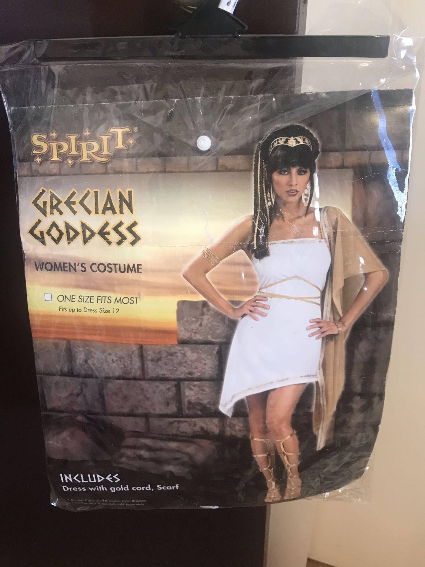 Halloween costume-Goddess