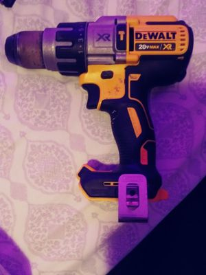 Photo Dewalt 20v drill slightly used (tool only)