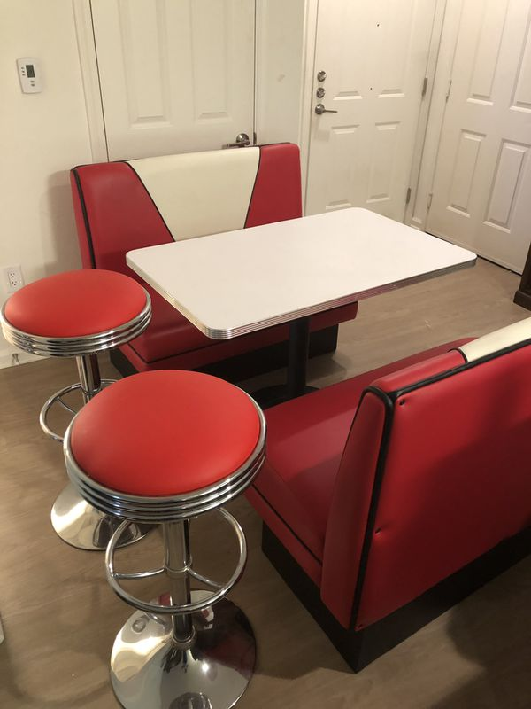 Custom Made Classic 1950's Retro Diner Booth Set for Sale in San Diego, CA  - OfferUp