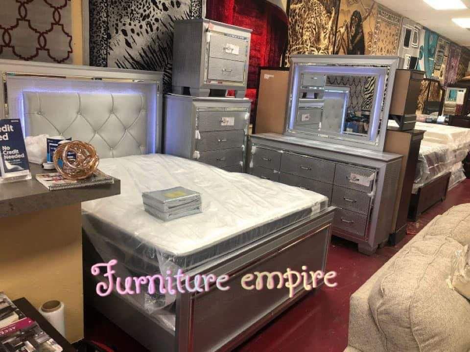 Furniture Bed Room Queen Sets