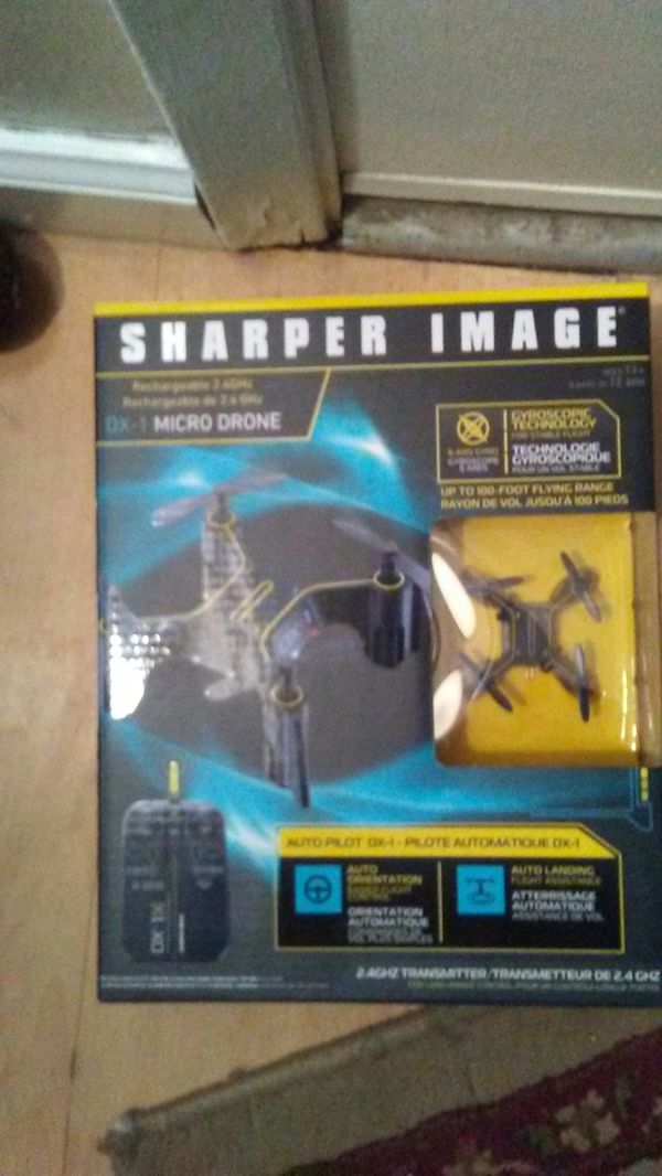 Sharper Image Dx 2 Rechargeable Stunt Drone Review
