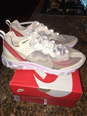 Nike React Element 87 size 11 for Sale in Bethesda, MD