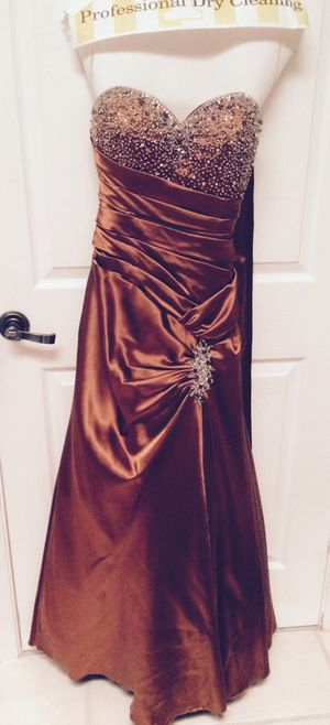 Prom Dress Taffeta Material Wine Color For Sale In Fort Lauderdale