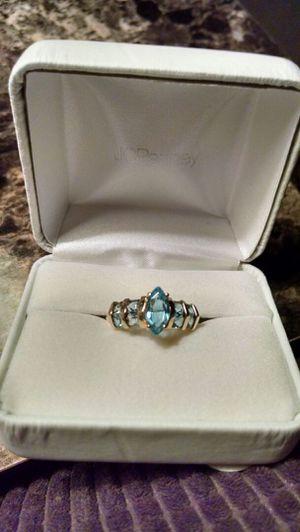 Blue Topaz Ladies Ring for Sale in Philadelphia, PA
