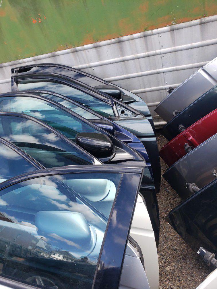 Acura TL Doors Many Colors 2004-2008