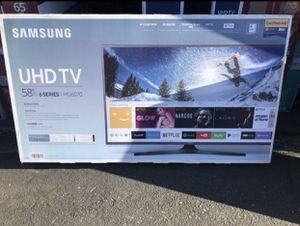 "Samsung UN58MU6070 58"" 4K UHD HDR LED Smart TV 2160p *FREE DELIVERY* for Sale in Tacoma, WA"