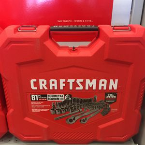 Craftsman mechanics tool set for Sale in St. Louis, MO