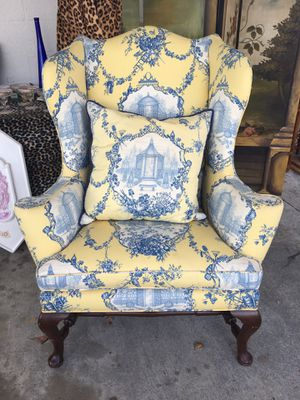 New And Used Wingback Chair For In Lake Worth Fl Offerup