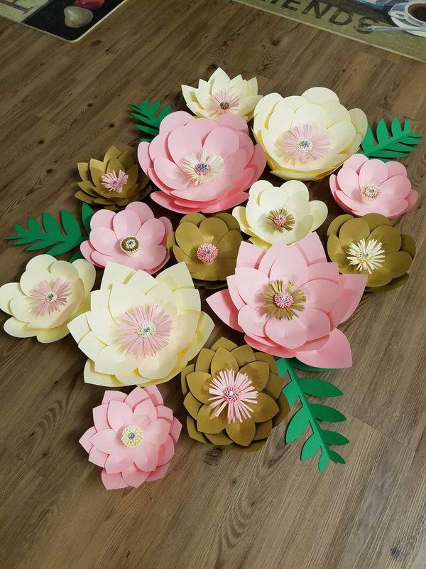 Paper Flower Backdrops For Sale In San Jose Ca Offerup
