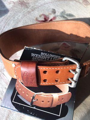 Altus leather weight lifting belt Vintage Size L 34-42 for Sale in Rockville, MD