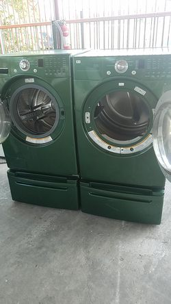 LG lavadora y secadora electrica Thumbnail