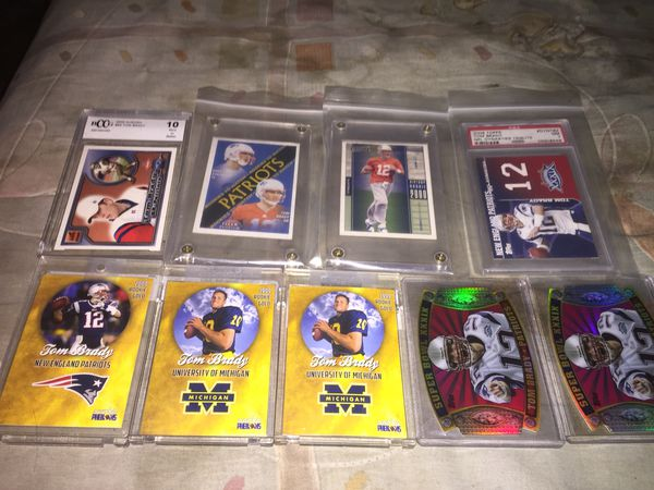 Tom Brady Rookie Card Lot For Sale In Somerset Ma Offerup