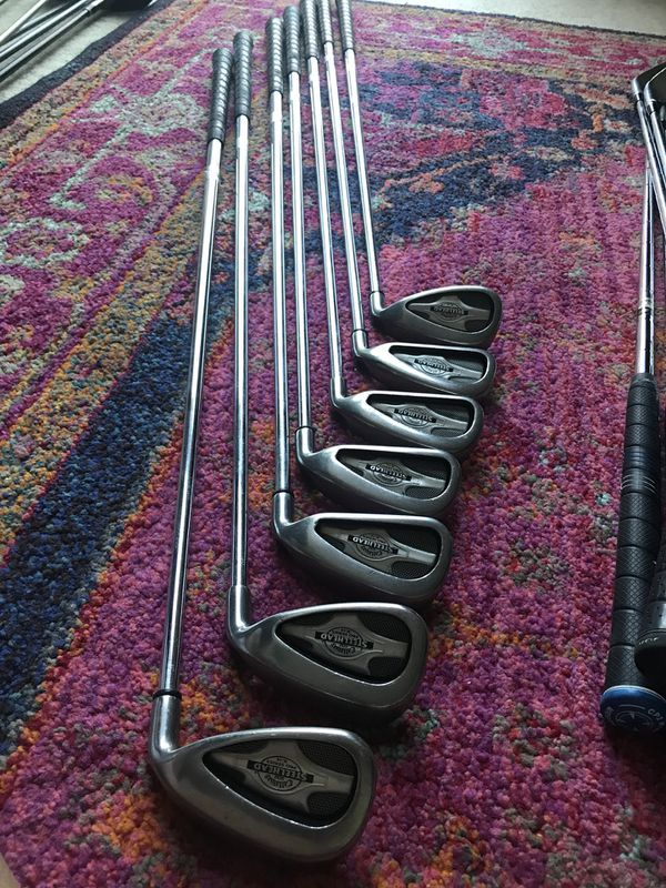 Callaway Mens Steelhead Pro Series X 14 Iron Set 4 P For Sale In