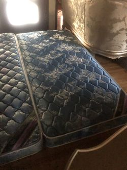 Twin mattress each for $50 both for $90 Thumbnail