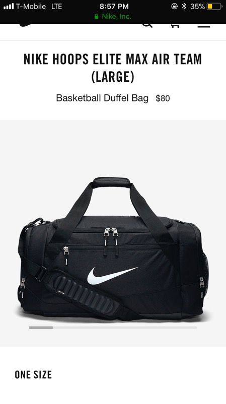 Nike Elite Duffle Bag(Large) for Sale in Beaverton c7dbd407d0