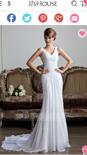 New Wedding dress from JJ's house for Sale in Columbus, OH