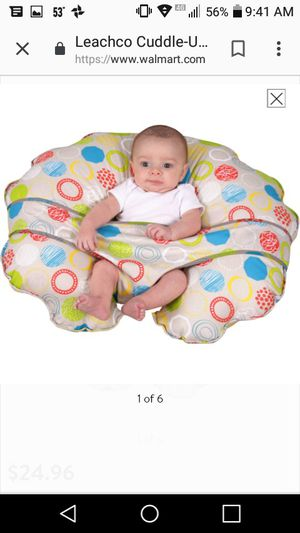 Leachco Cuddle-U Nursing Pillow and More for Sale in Statesville, NC