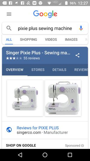 New And Used Sewing Machines For Sale In Port Richey FL OfferUp Fascinating Pixie Plus Sewing Machine Reviews