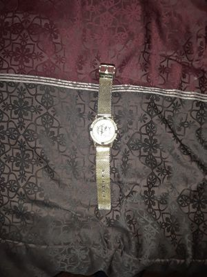 Gold mens watch all diamonds in place for Sale in TN, US
