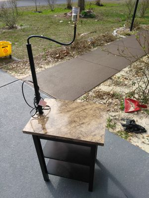 Table with light for Sale in Orlando, FL