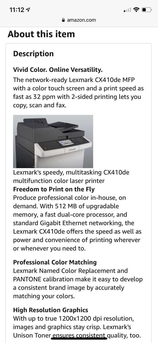 New and Used Printer for Sale in Federal Way, WA - OfferUp